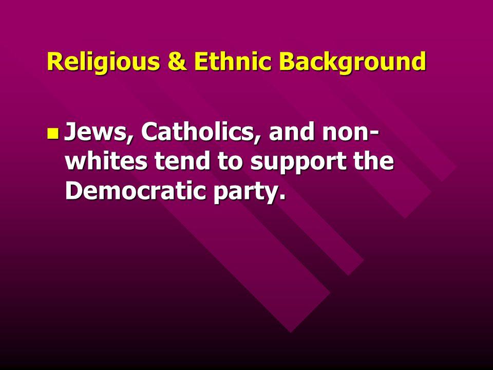 Religious & Ethnic Background