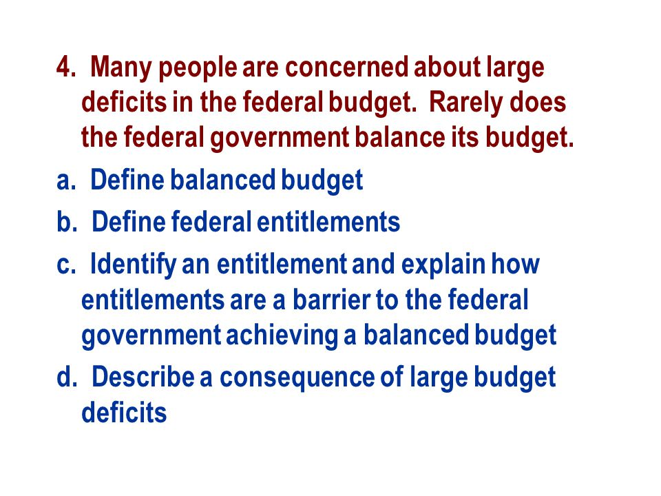 balanced budget act essay The balanced budget amendment is a proposal introduced in congress almost every two years, without success, that would limit the federal government's spending to no more than it generates in revenue from taxes in any fiscal year while almost every state is prohibit from running deficits, federal.