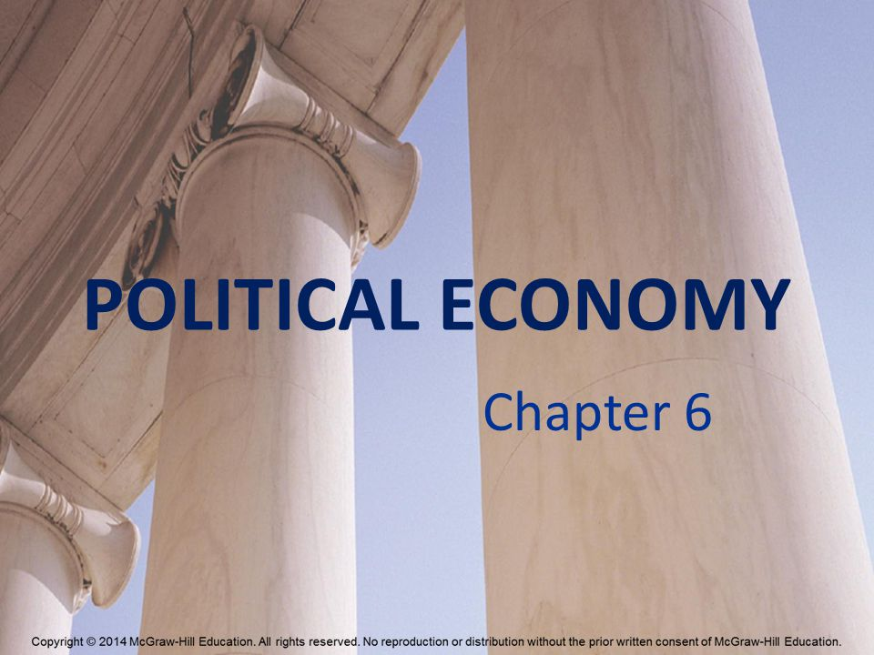 POLITICAL ECONOMY Chapter 6