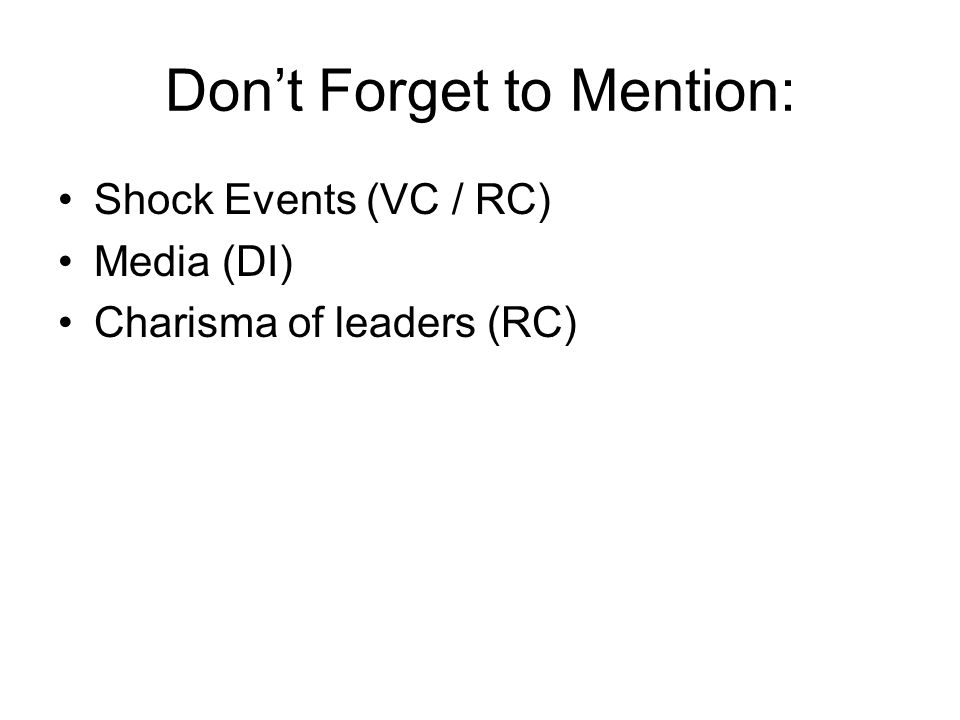 Don't Forget to Mention: