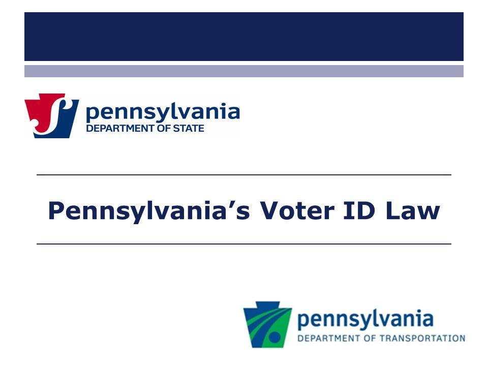 Pennsylvania's Voter ID Law