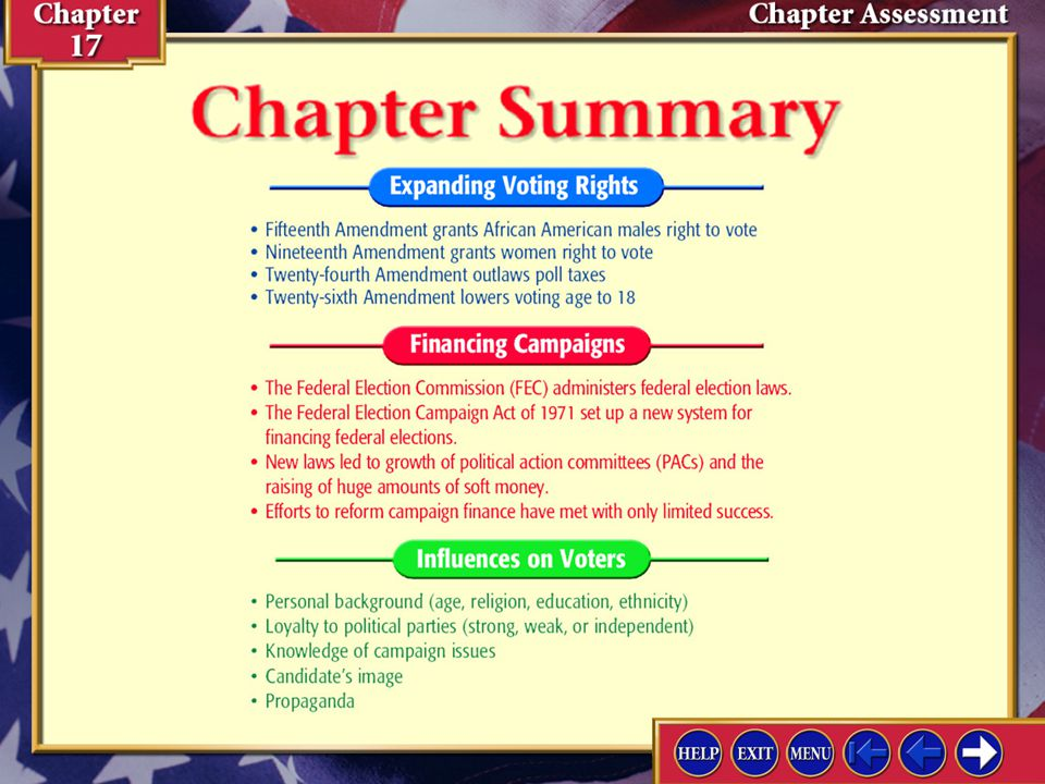 Chapter Assessment 1