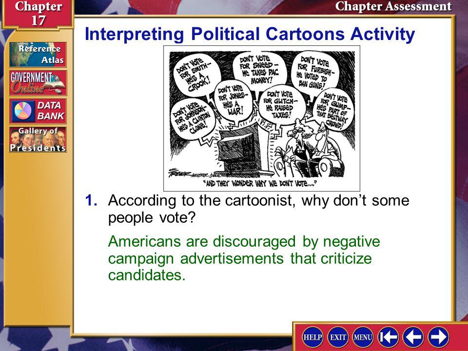 Interpreting Political Cartoons Activity