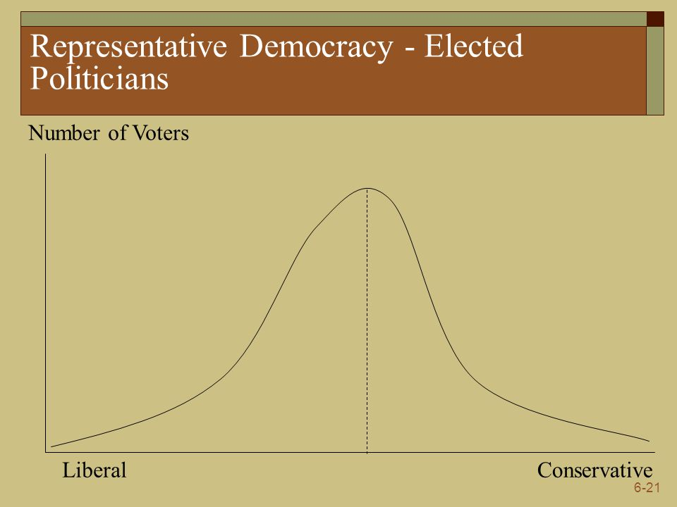 Representative Democracy - Elected Politicians