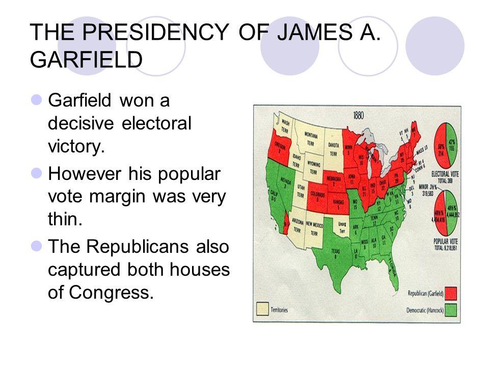 THE PRESIDENCY OF JAMES A. GARFIELD