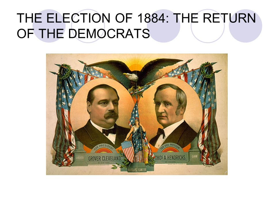 THE ELECTION OF 1884: THE RETURN OF THE DEMOCRATS