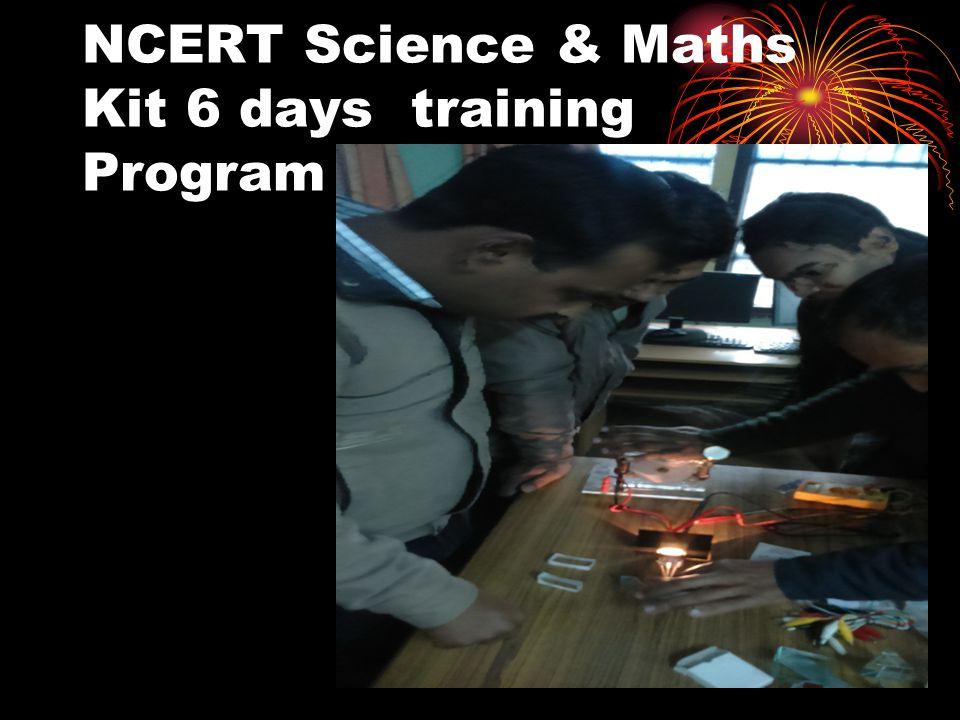 NCERT Science & Maths Kit 6 days training Program