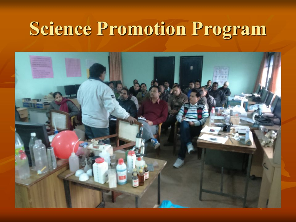 Science Promotion Program