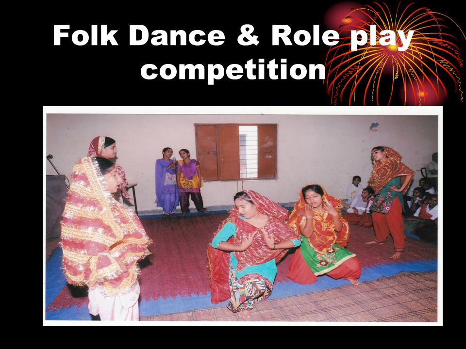Folk Dance & Role play competition