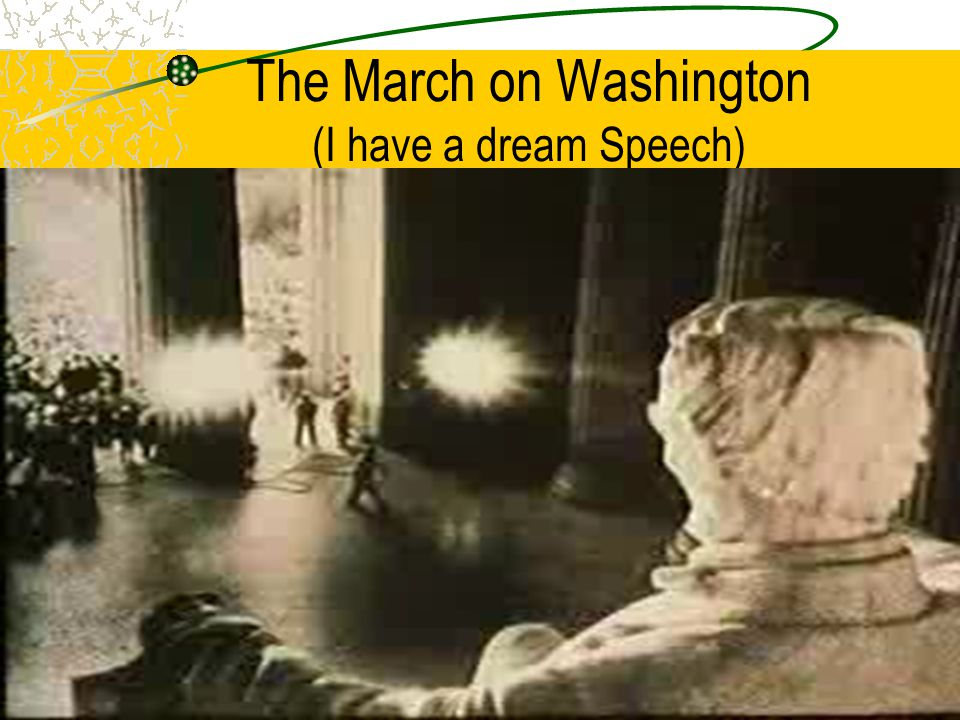 The March on Washington (I have a dream Speech)