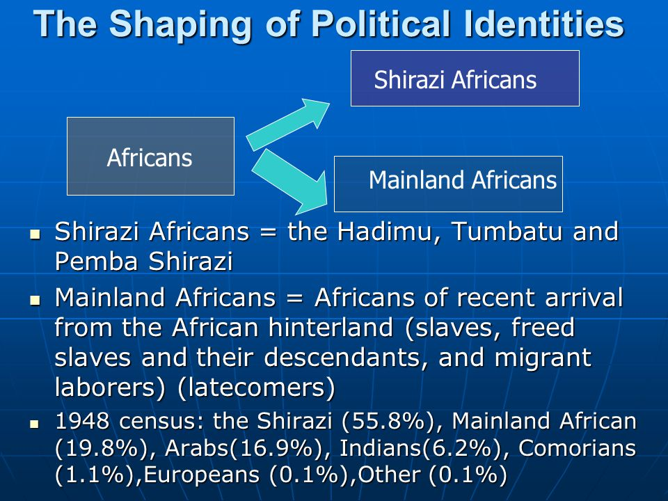 The Shaping of Political Identities