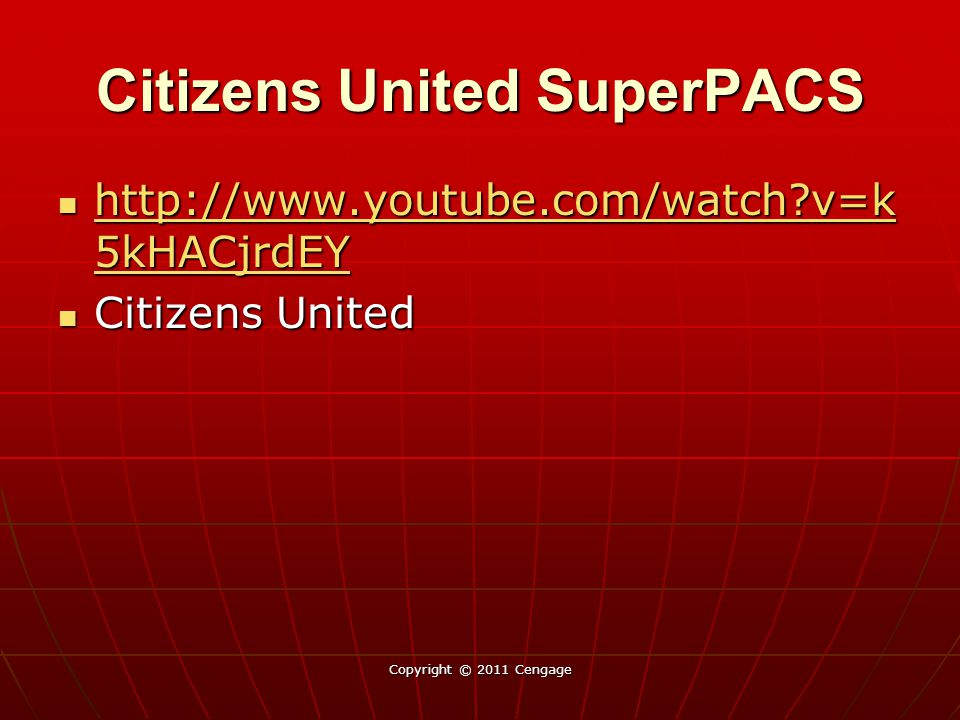 Citizens United SuperPACS
