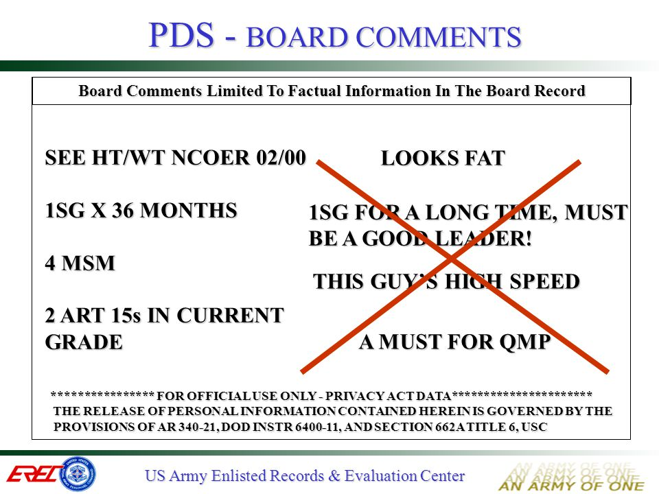 Board Comments Limited To Factual Information In The Board Record