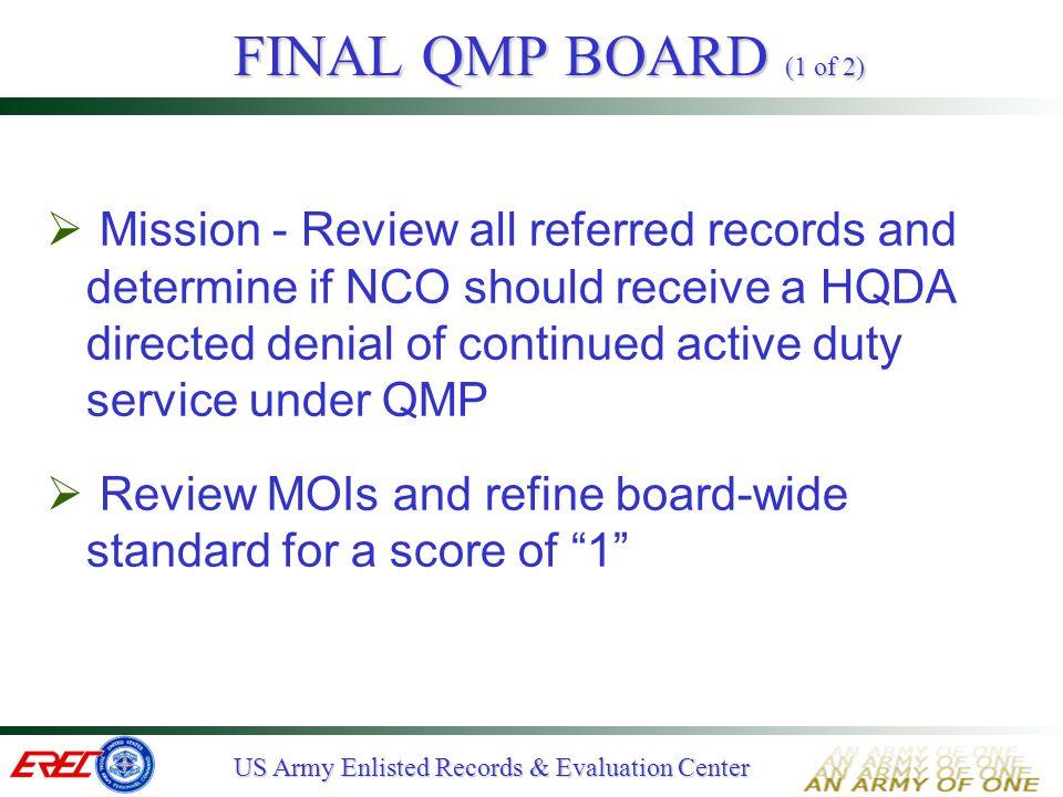 FINAL QMP BOARD (1 of 2)