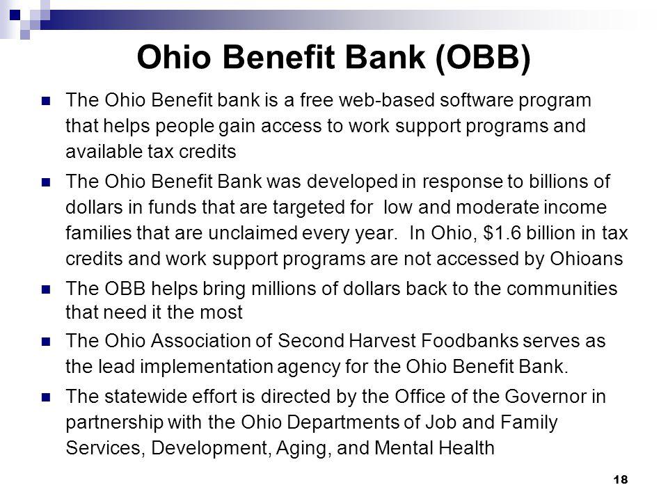 Ohio Benefit Bank (OBB)