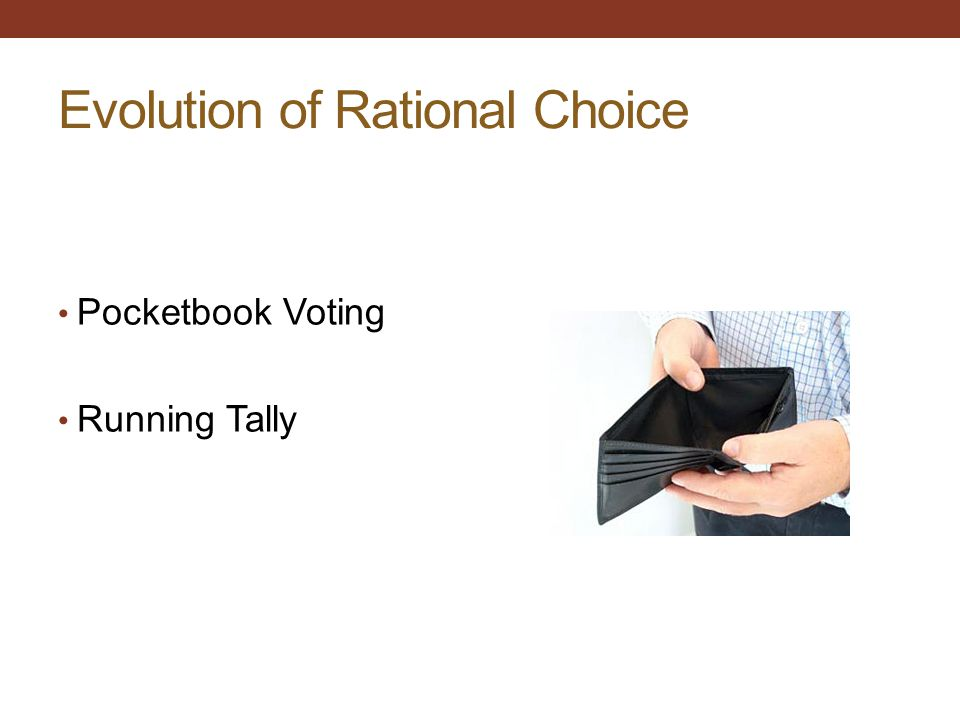 Evolution of Rational Choice
