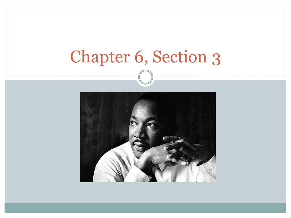 Chapter 6, Section 3