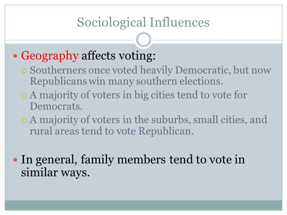 Sociological Influences