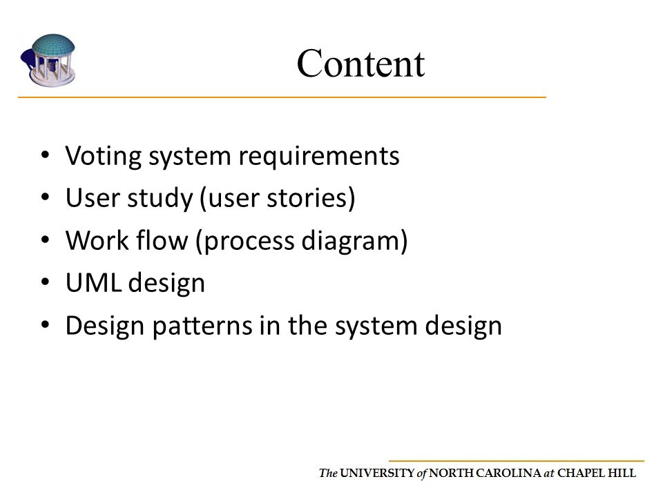Content Voting system requirements User study (user stories)