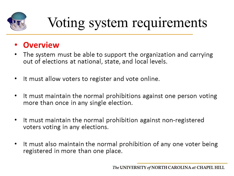 Course final project online voting system design report ppt download voting system requirements ccuart Choice Image