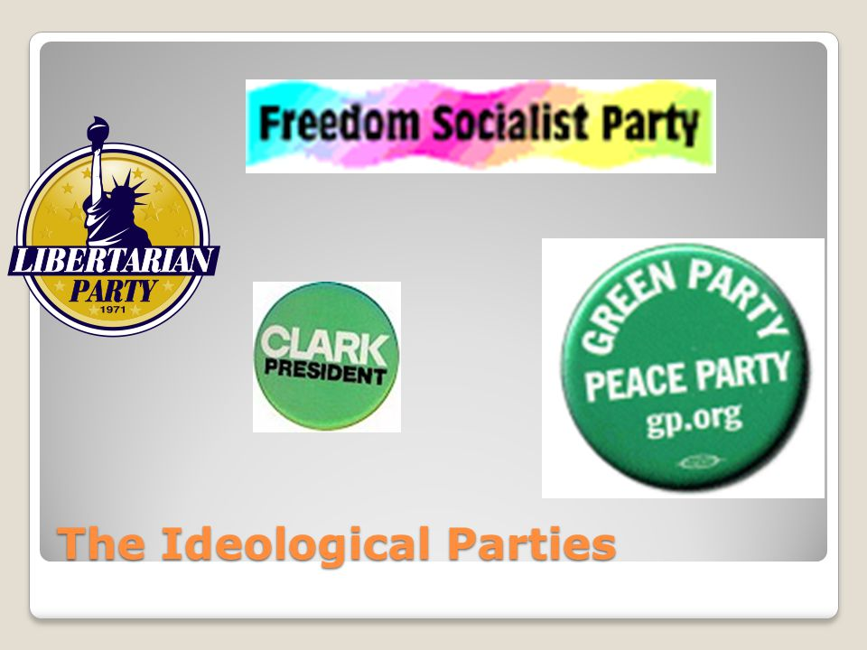 The Ideological Parties