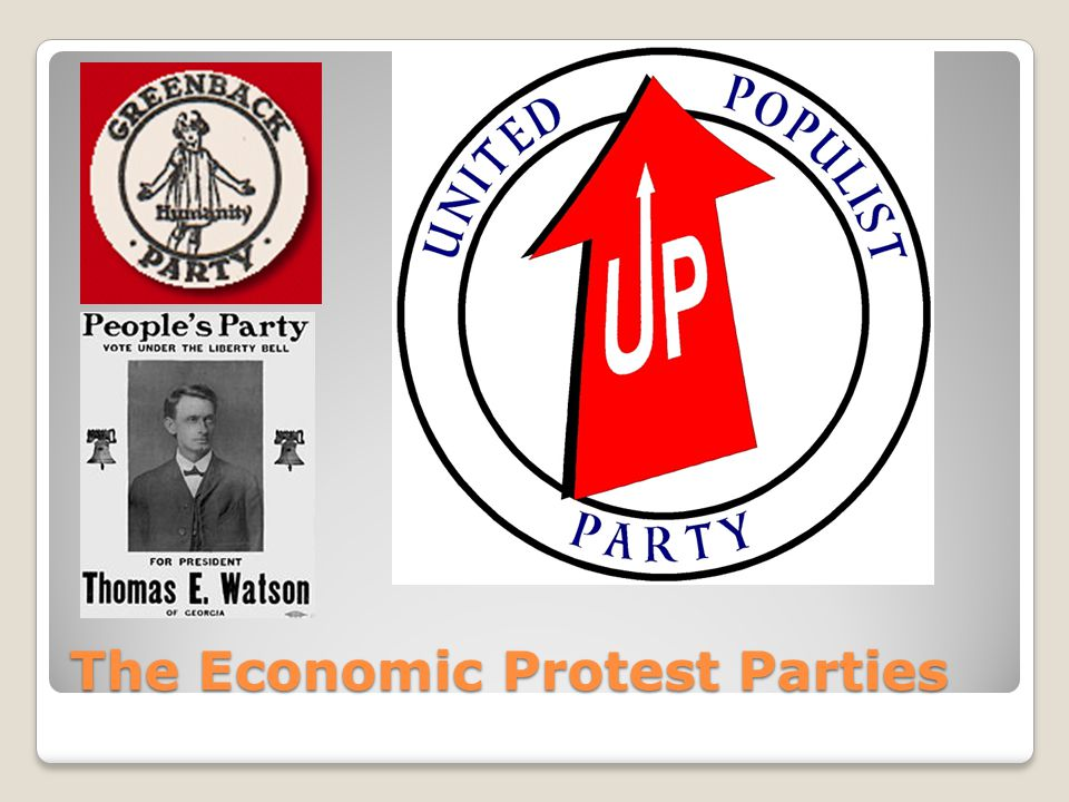 The Economic Protest Parties