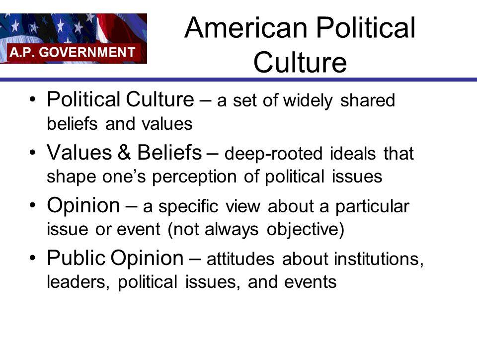 American Political Culture