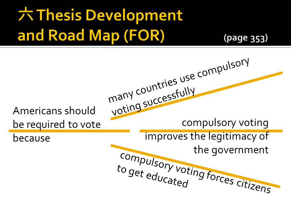 六 Thesis Development and Road Map (FOR) (page 353)