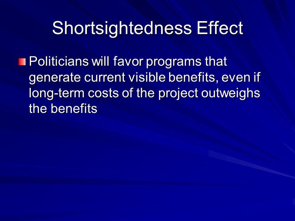 Shortsightedness Effect