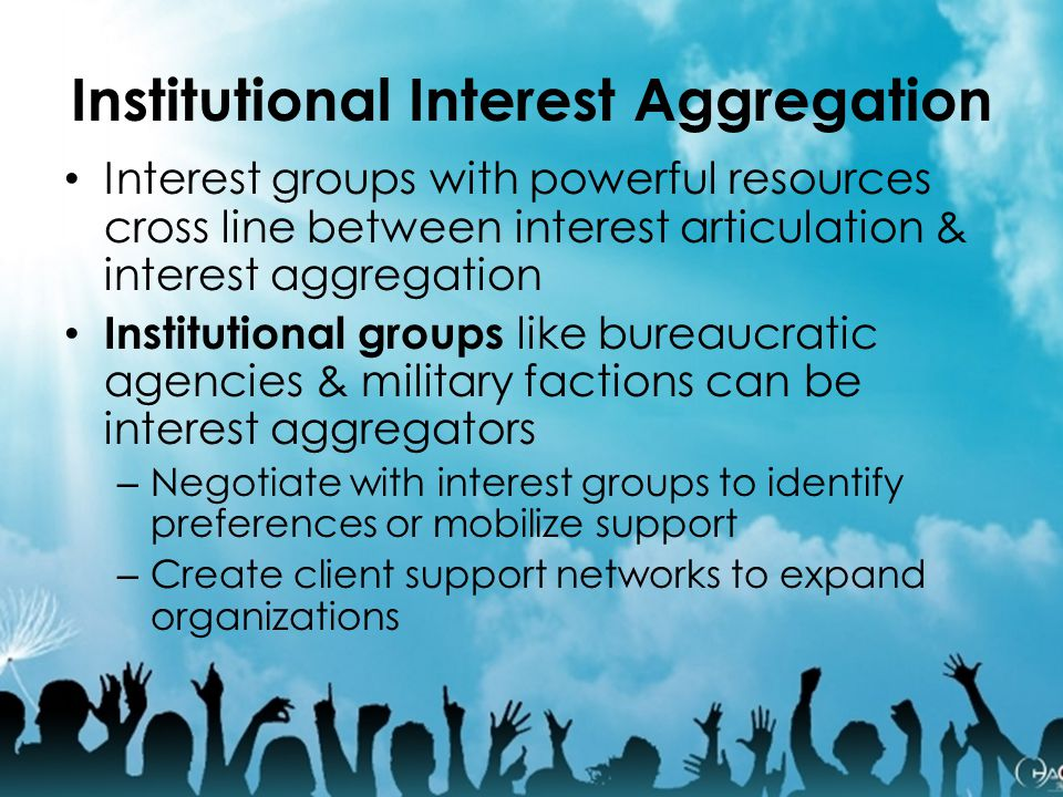 Institutional Interest Aggregation