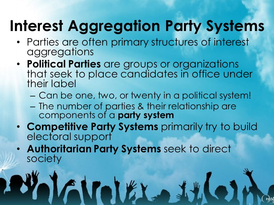 Interest Aggregation Party Systems