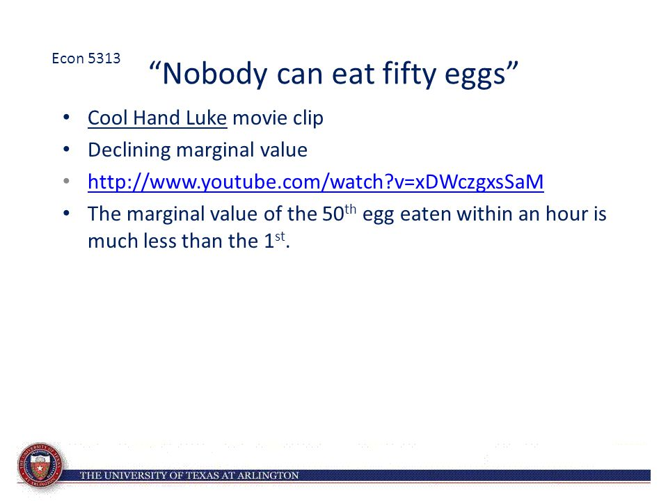 Nobody can eat fifty eggs