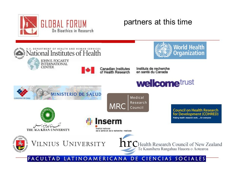partners at this time Institut national