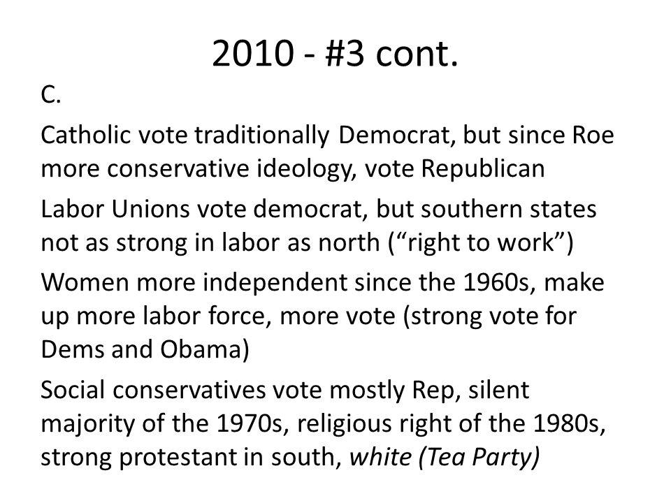2010 - #3 cont.