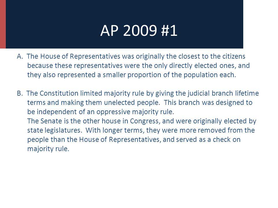 AP 2009 #1