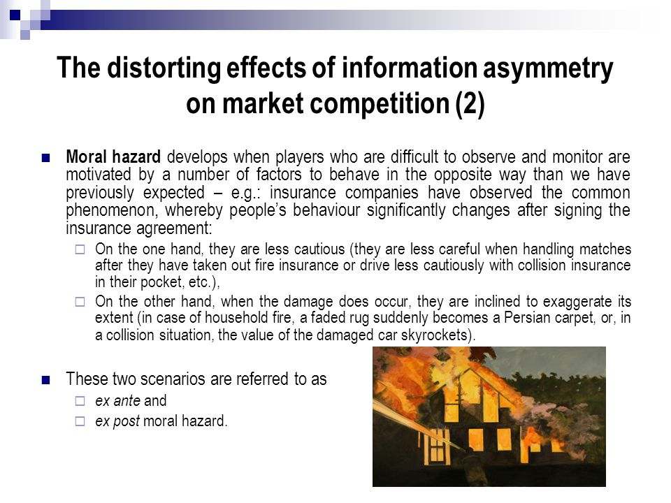 The distorting effects of information asymmetry on market competition (2)