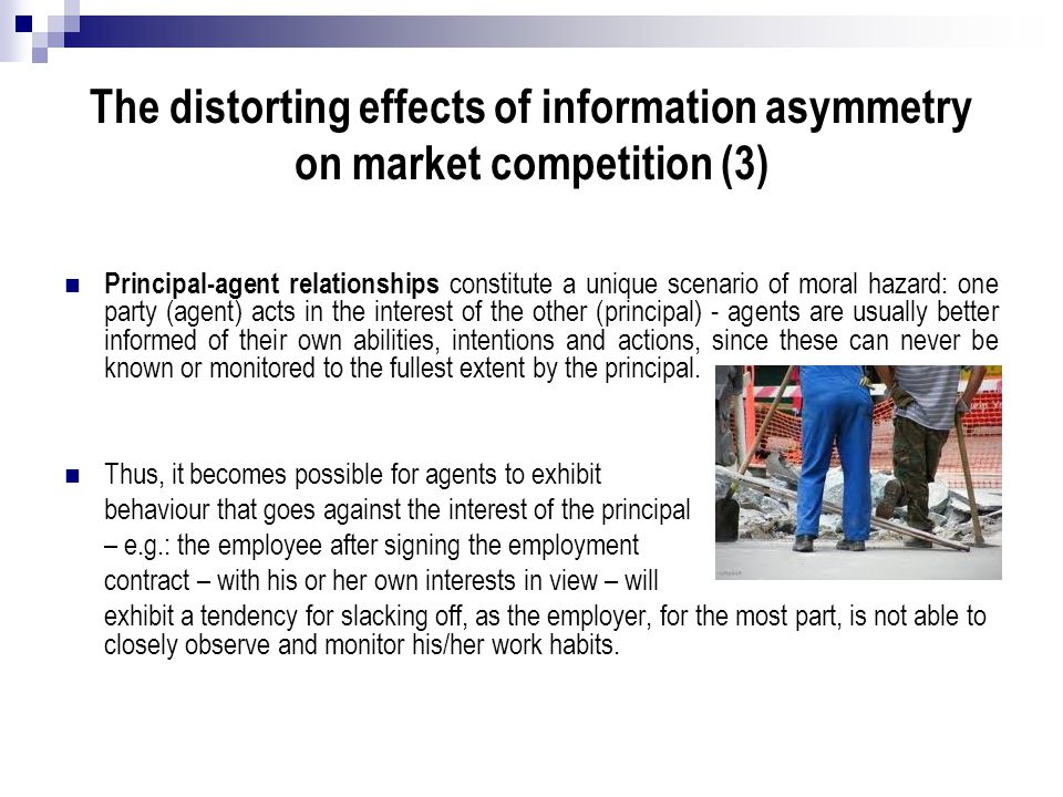 The distorting effects of information asymmetry on market competition (3)