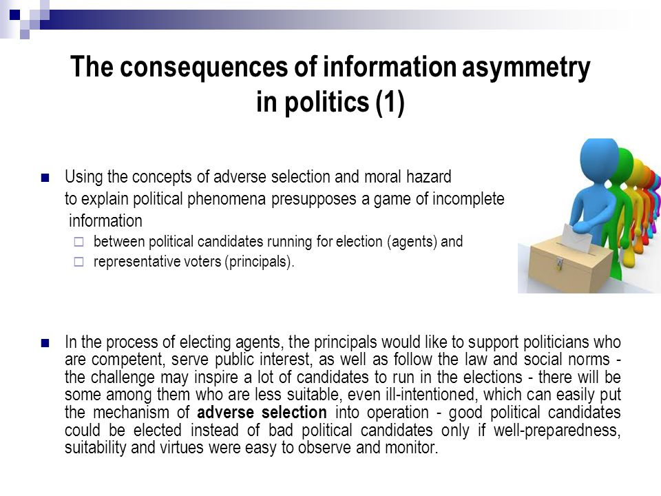 The consequences of information asymmetry in politics (1)