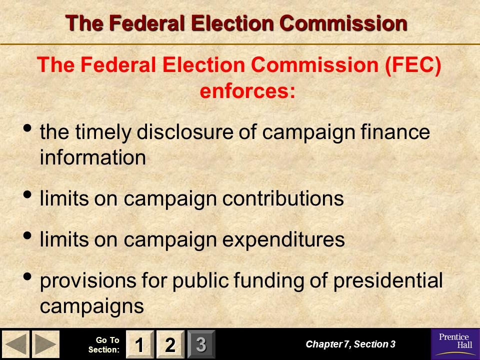 The Federal Election Commission