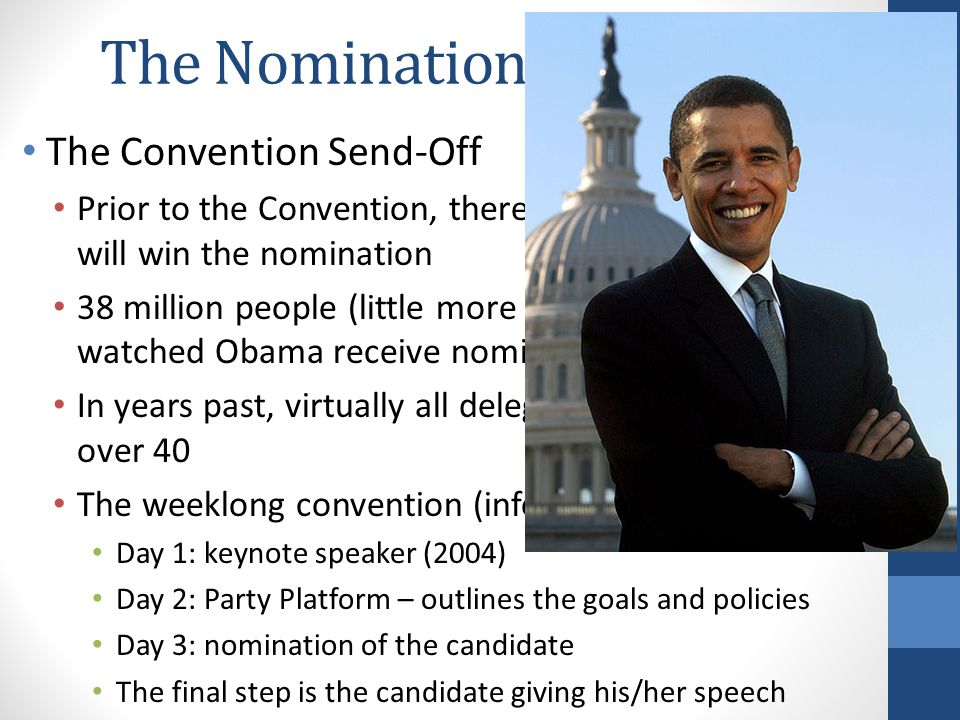 The Nomination Game Cont.