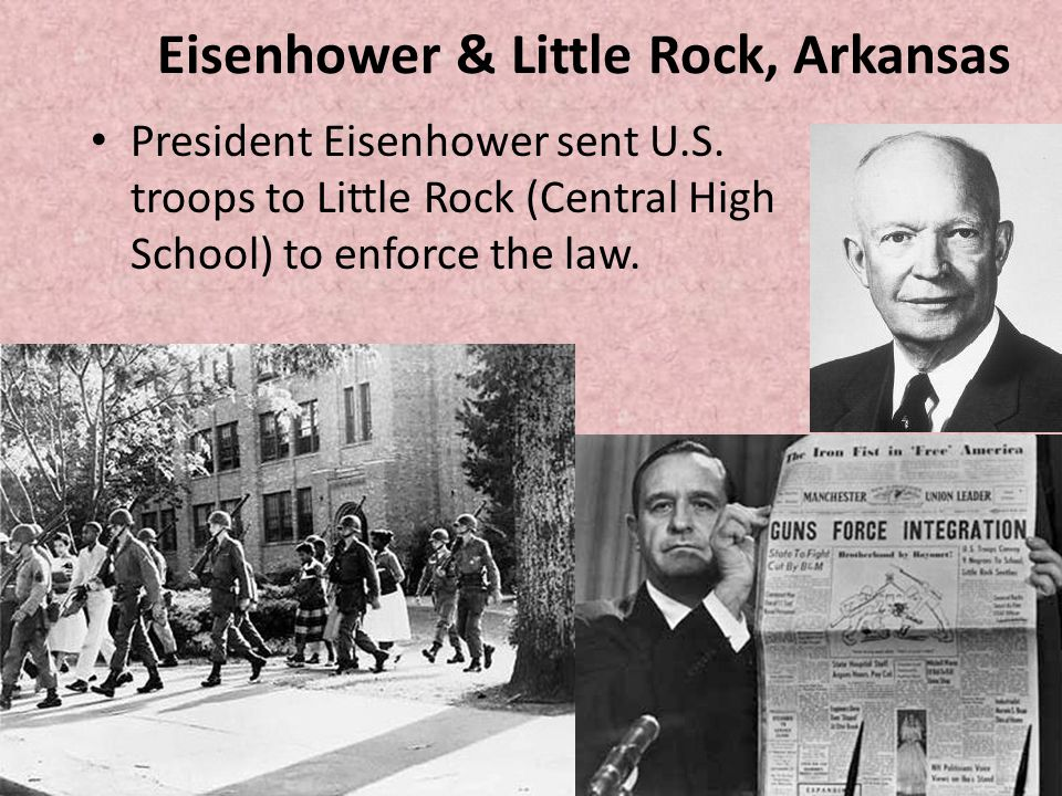 Eisenhower & Little Rock, Arkansas