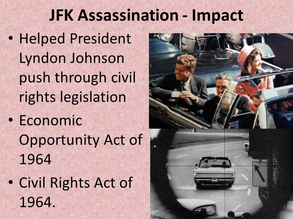 JFK Assassination - Impact