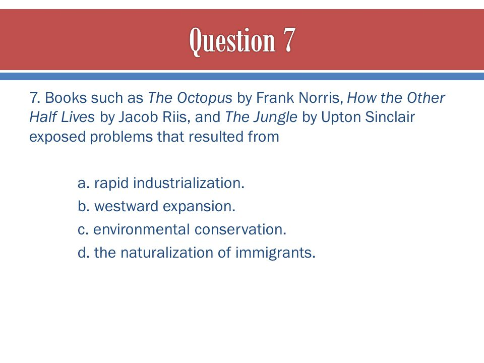 Question 7