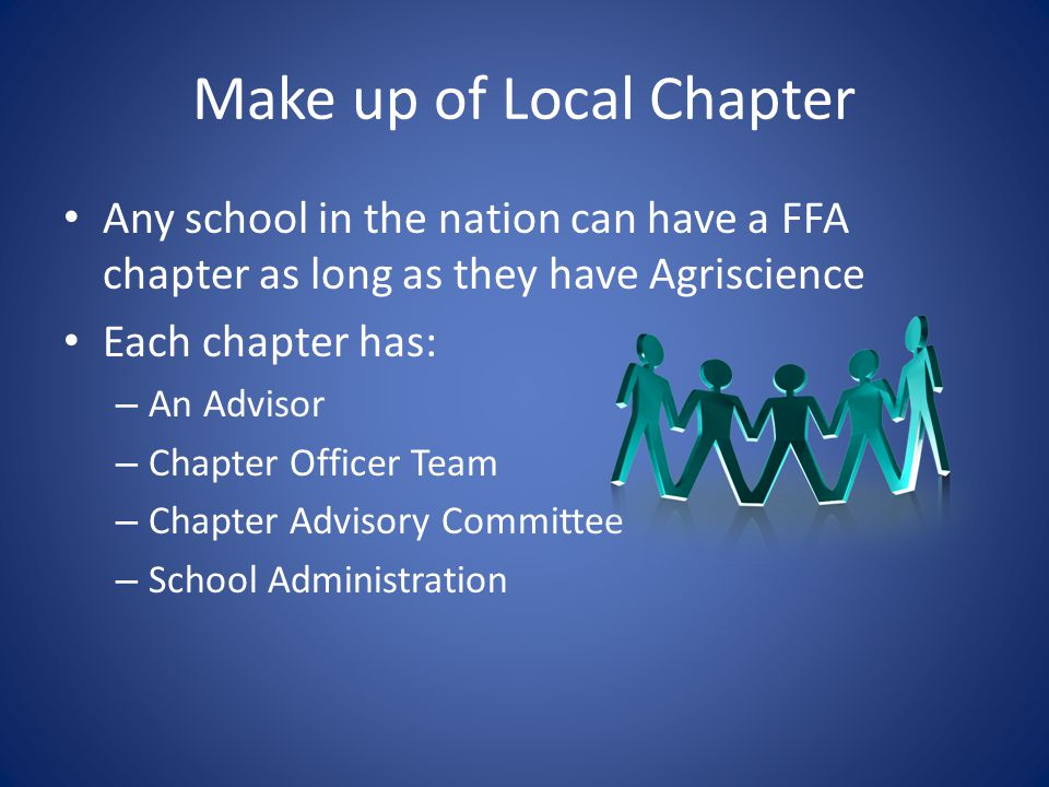 Make up of Local Chapter
