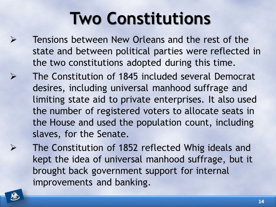 Two Constitutions