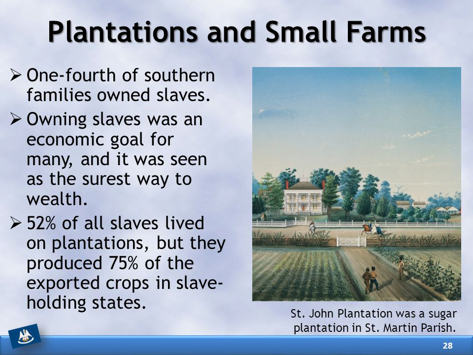 Plantations and Small Farms