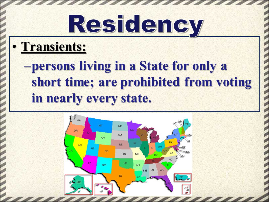 Residency Transients: