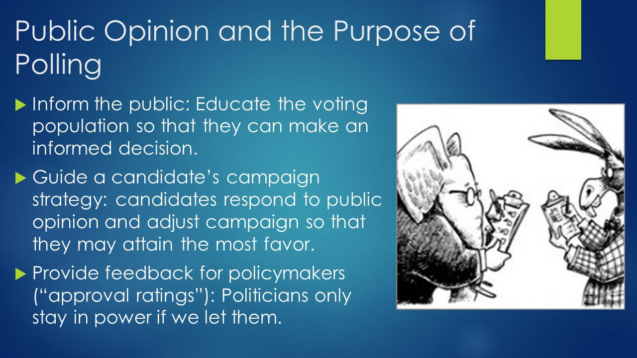 Public Opinion and the Purpose of Polling