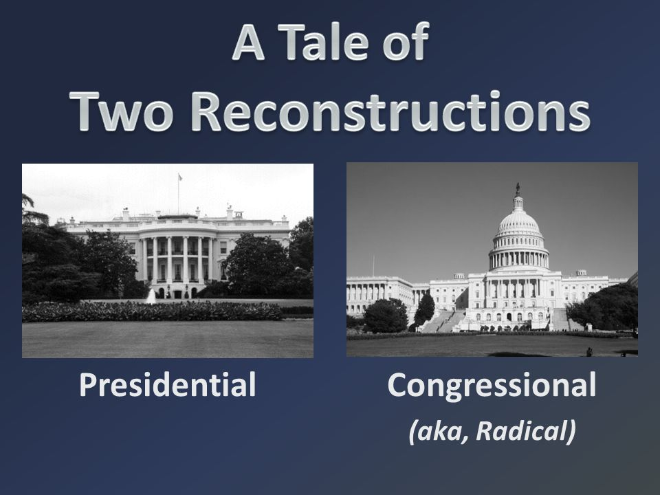 A Tale of Two Reconstructions