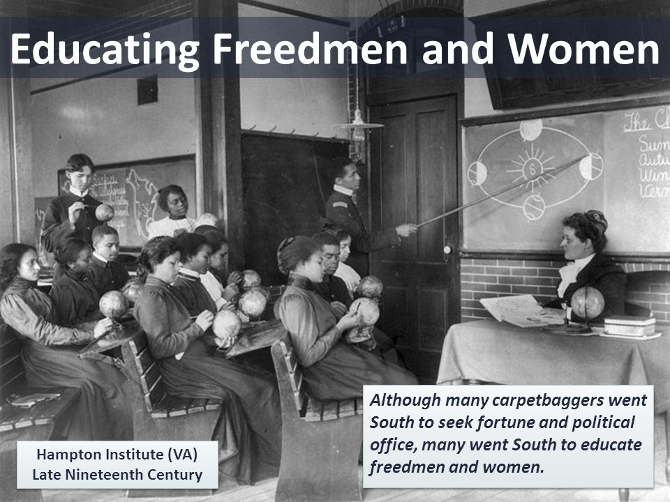 Educating Freedmen and Women